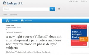 Independent trial: Valkee is a sleep and mood placebo